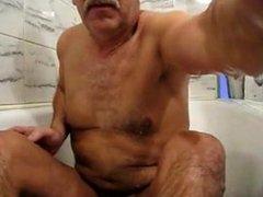 Daddy standing vidz cum