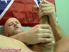 Bald dude vidz Tony masturbates  super and gets his big cock sucked well