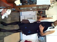 my sissy vidz cooking for  super me and my girl friend