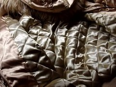Cum inside vidz shiny gold  super H&M Divided jacket