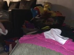 wife gave vidz me her  super mums dirty knickers