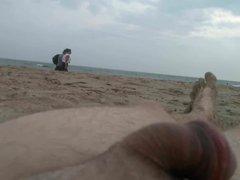flashing my vidz dick at  super the beach