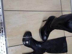 high heels vidz voll pissen