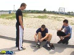 Skater Boys vidz Park Blowjobs