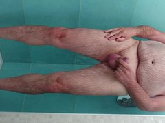 In the vidz shower on  super the kampsite 4