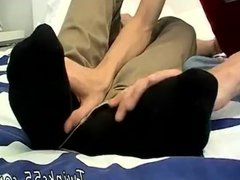 Porno gay vidz emo feet  super xxx Cummy Foot Rub For