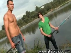 Teen gay vidz boys sauna  super Anal Sex by The Lake!