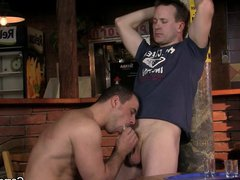 He turns vidz into gay-slut-boy  super in the bar