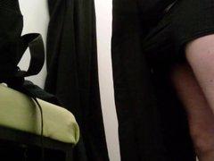 Masturbating in vidz Changing room  super 2 with CUM