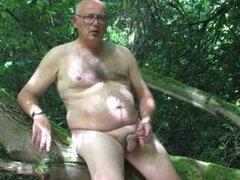 Daddy outdoor vidz play and  super cum
