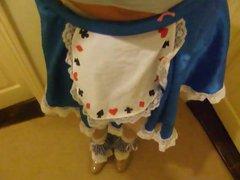 Alice in vidz Blue and  super pvc panties