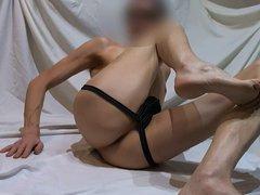 Slim twink vidz continuous underwear  super photo shoot