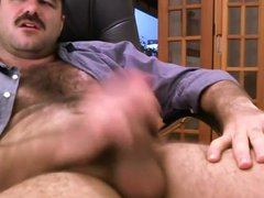 Hot daddy vidz jerk off