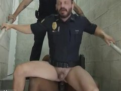 Gay black vidz ebony boys  super Fucking the white cop