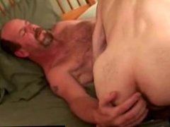 Mature gay vidz guys give  super each other head