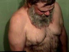 Straight fat vidz redneck takes  super a shower