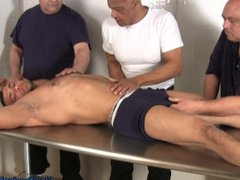 muscle hunk vidz groped by  super older guys