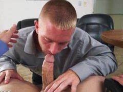 Thug vs vidz school boy  super gay porn Keeping The Boss Happy