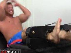 Gay feet vidz man sucking  super Wrestler Frey Finally Tickled