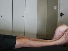 4K Ultra vidz HD Professional  super Pornstar Sniffs Daddies Feet & Cums HARD Teen Boy