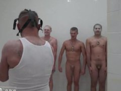 Gay military vidz pants cock  super movie The Hazing, The Showering and The Fucking