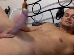 jerkoff in vidz bedroom
