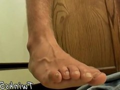 Gay twinks vidz and black  super mens feet and gay foot fetish porn In The Kitchen