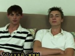 Bearded straight vidz men cock  super gay Futon opened up and both men oiled up and