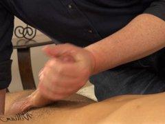 Rosta gets vidz intimate ass  super massage