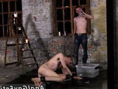 Piss drinking vidz photos gays  super Chained to the warehouse floor and incapable to