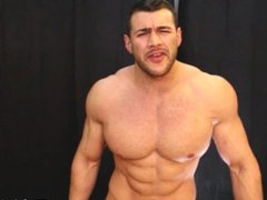 massive muscle vidz god has  super straight punk service his cock