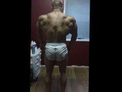 Bodybuilder Posing vidz Practice 25