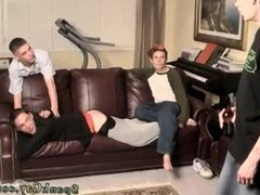 Spanking video vidz miles and  super kyler gay An Orgy Of Boy Spanking!