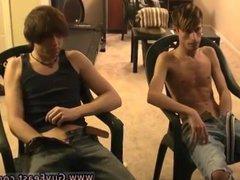 Emo queer vidz gay porn  super and teen boy squeezes big black cock in pants Jared is