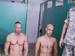 Free gay vidz navy movies  super and army men wanking each other first time Good Anal