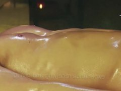 Massage with vidz lots of  super eroticism and without clothes