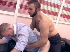 From Behind vidz - Fuck  super In The Office (Malek Tobias & Jalil Jafar)