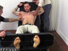 Old guy vidz with gay  super twink foot fetish KC Gets Tied Up & Revenge Tickled