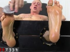 Men who vidz love gay  super twink boy feet Cristian Tickled In The Tickle Chair