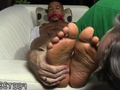 Emo gay vidz twinks licking  super feet first time Mikey Tied Up & Worshiped