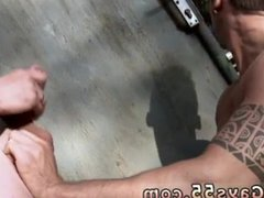 Men jerking vidz off in  super public bathroom gay Two Guys Anal Fucking Outdoors