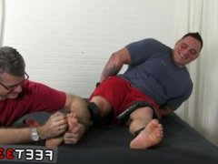 Gay bound vidz foot tube  super first time What could be finer than binding up a big,