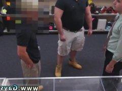 Gay guys vidz on their  super knees blowing straight guys xxx Public gay sex