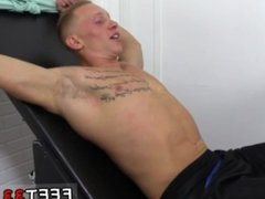Guys feet vidz video free  super gay first time Cristian Tickled In The Tickle Chair