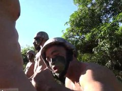 Army gay vidz man cum  super shot and movie of naked young military Taking the