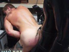 Circumcision gay vidz fetish video  super Dungeon tormentor with a gimp