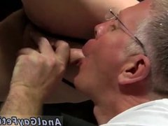 Sean male vidz bondage and  super small cute bondage boy ass fucking old gay man