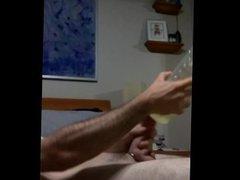Fleshlight huge vidz dick cumshot