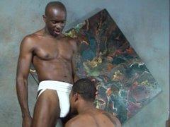 Fetish black vidz guy worships  super his gym buddy's jock strap