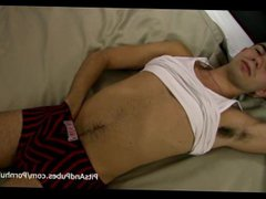 twink with vidz hairy pits